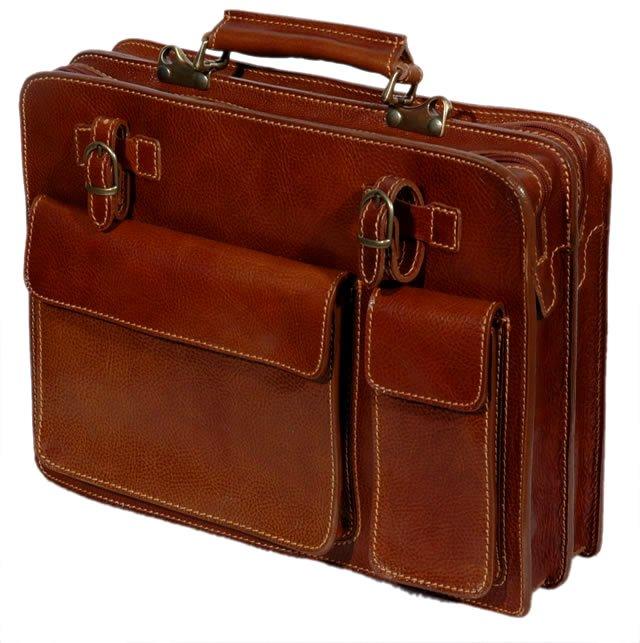 Venezia - Leather Briefcase
