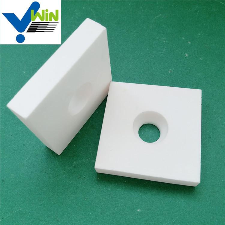 White Abrasive Materials Alumina Ceramic Tile Plates