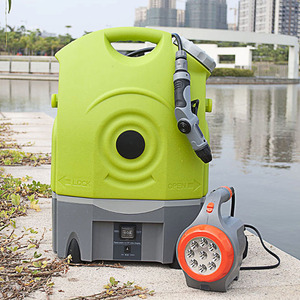 China supplier 12V electric portable multi-functional high pressure washer with spray gun/ car wash equipment