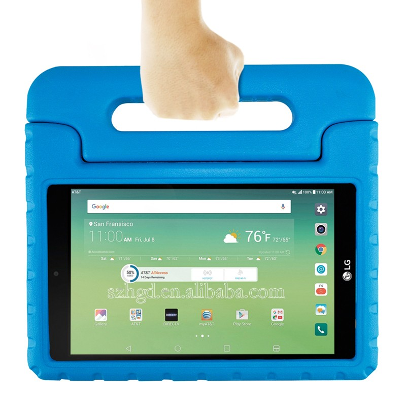For Lg G Pad X 8 0 /lg G Pad 3 8 0 Kids Case With Convertible Handle Stand  Super Protection Tablet Case - Buy For Lg G Pad X 8 0 Case,For Lg G Pad 3