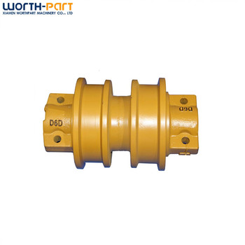 Engineering Construction Machinery Parts D6D Track Roller