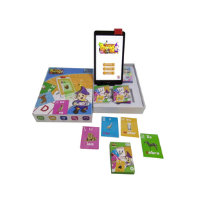 China supplier English educational Learning phonics Plastic Flash Cards Phonics Games educational Toys