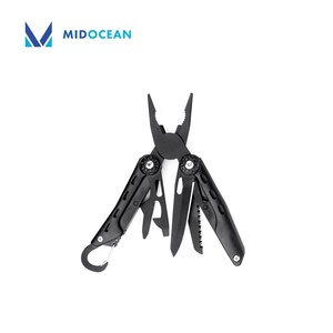 Black Multitool Plier for Survival Outdoor Camping