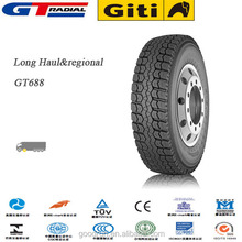 11R24.5 chinese truck tire GT Radial brand