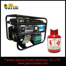 China Gas Series Generator Reliable Supplier 2kw 2.5kw 3kw 4kw 5kw 6kw LPG Generator