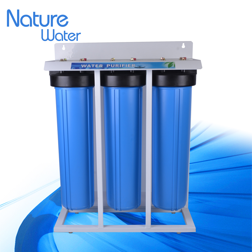 20inch big blue water filter with the strong iron stand