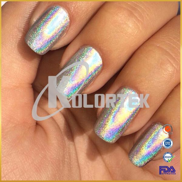 Kolortek Holographic Nail Glitter Nail Art Hologram Pigments ...