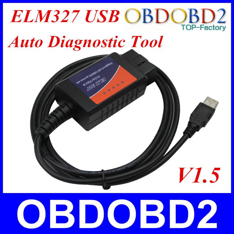 Auto Diagnostic Scan Tool ELM 327 USB Version V1 5 ELM327