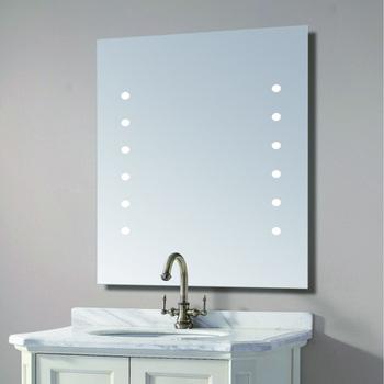 Hotel Bathroom Vanity Wash Basin Mirror Wall Mounted Touch Screen