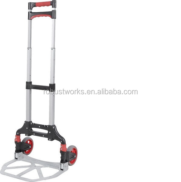 Aluminium Hand Truck Luggage Trolley Foldable Hand Trolley