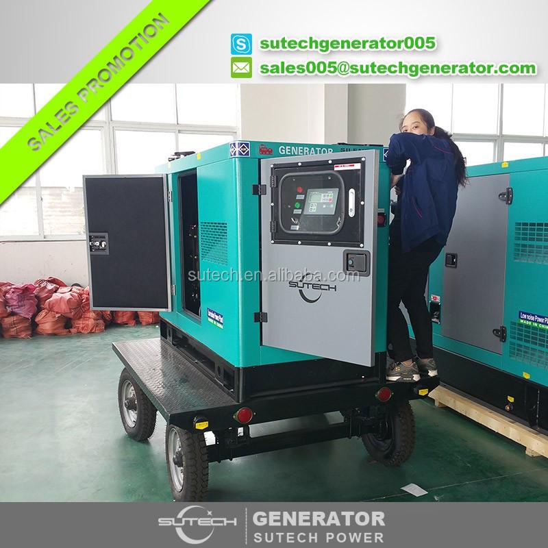 Hot Sale 3 Phase Diesel Silent Generator 15kw Powered By Cummins ...