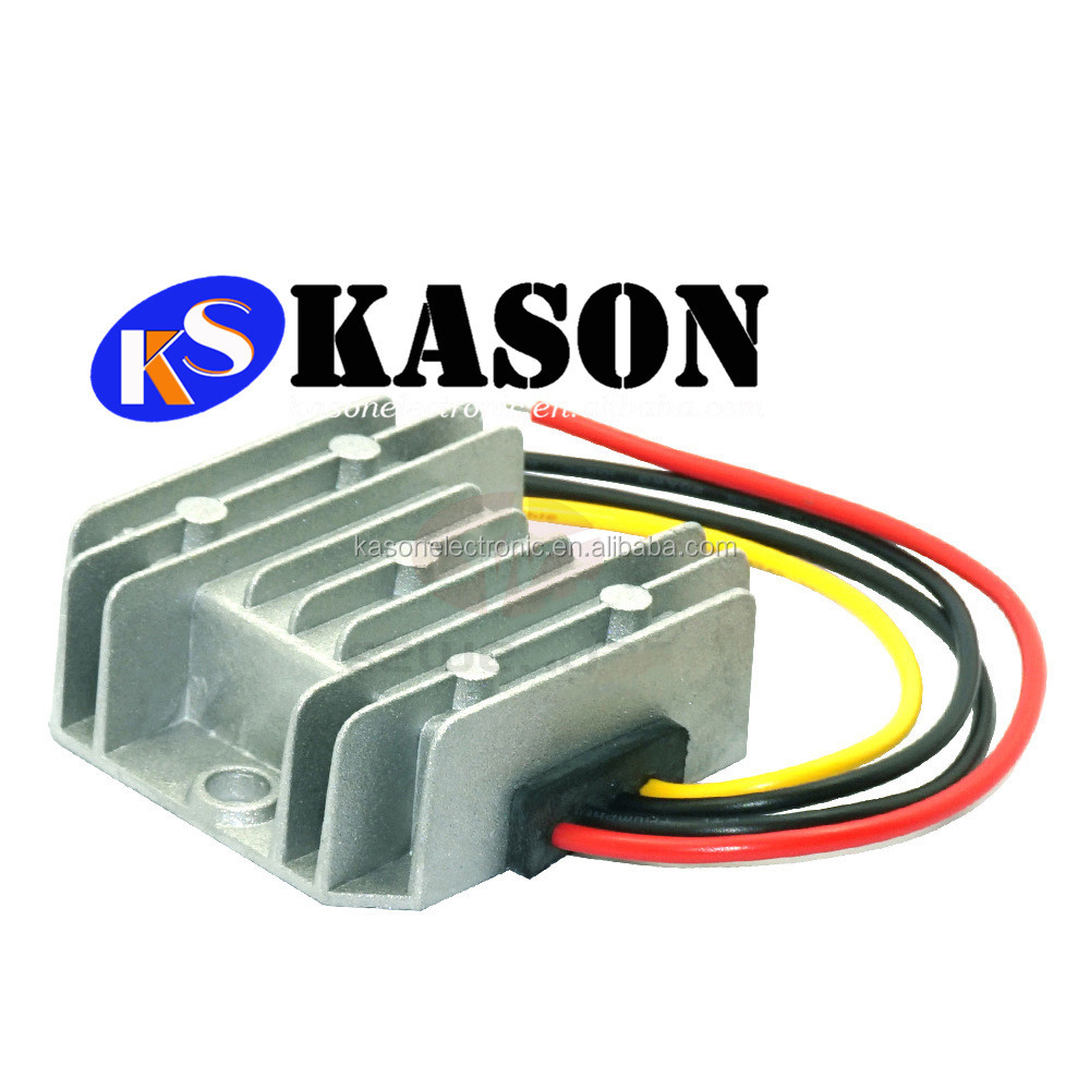 waterproof 12V TO 28V DC stabilized voltage supply DC-DC vehicle power supply convertor 3A step-up transformer Good Price