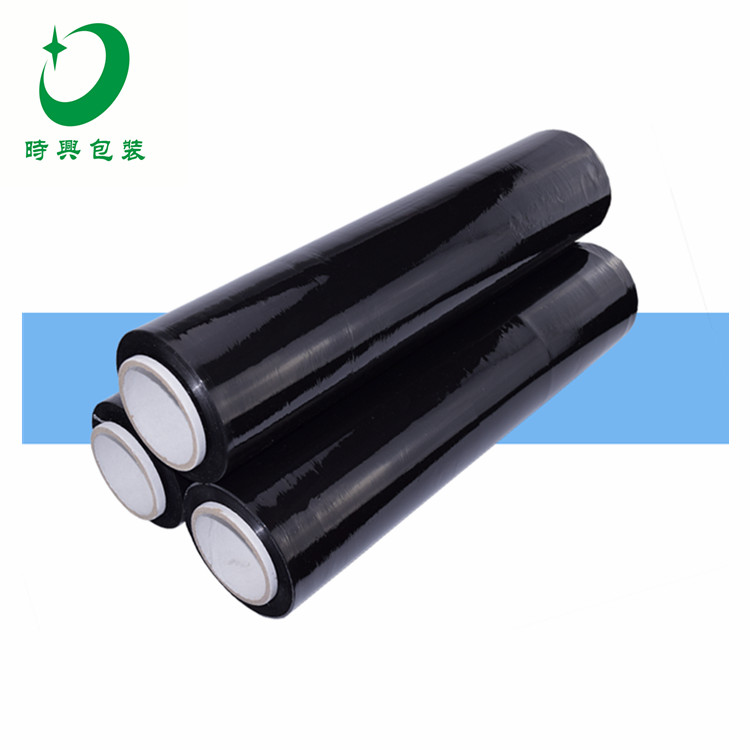 Hot PE/LLDPE Casting Transparent/Blue /Black Stretch Film for Industry Package