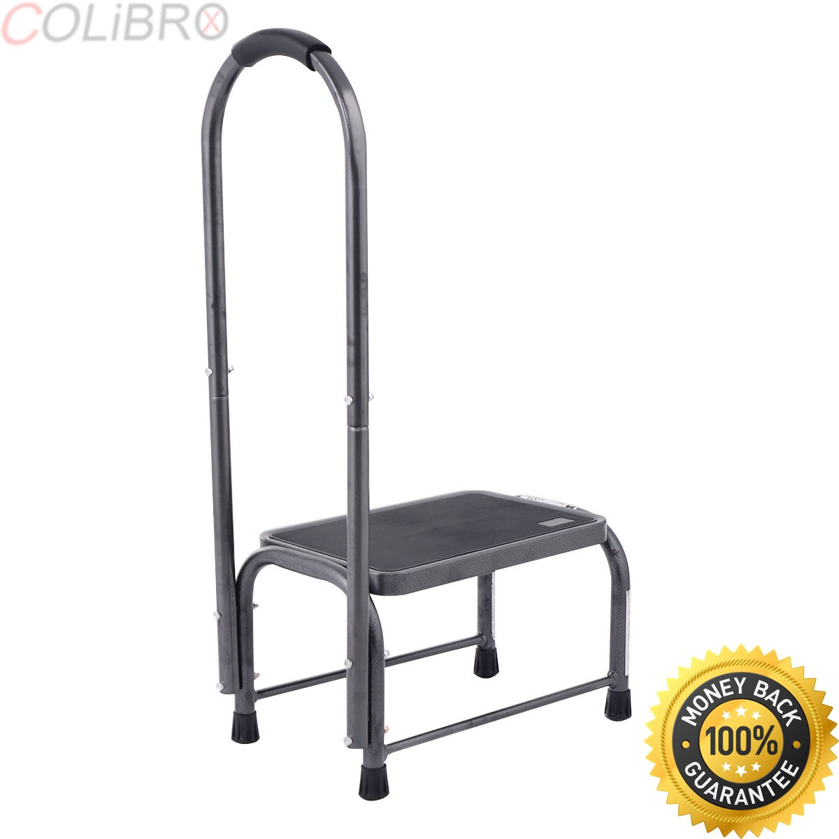 Buy Colibrox Non Slip Handy Support Step Stool W Handle 330 Lbs Load Capacity Kitchen Safety Step Stool With Handle For Elderly Best Adjustastep Amazon Handicap Step Stool With Handle Step Stools In Cheap Price On
