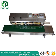 980W Horizontal solid-inker printer plastic film sealer bag sealing machine