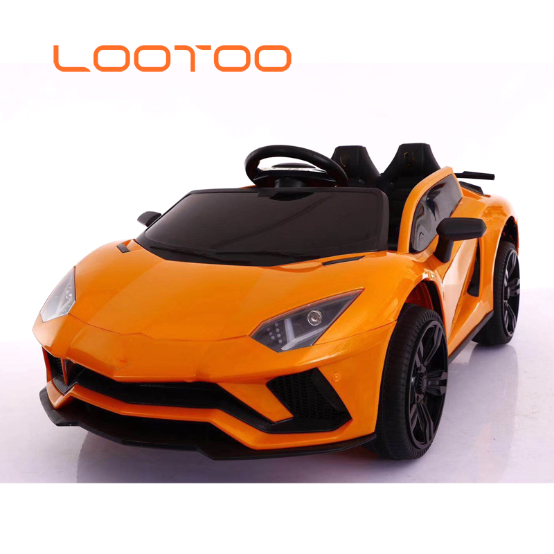 Factory cheap battery motorized ride on children mini 2 seater rc driving electric cars