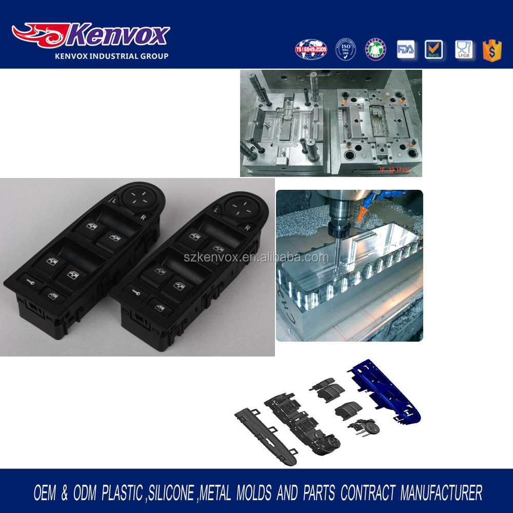 Custom Injection plastic Mould& Injection plastic Mold for car parts, auto spare parts