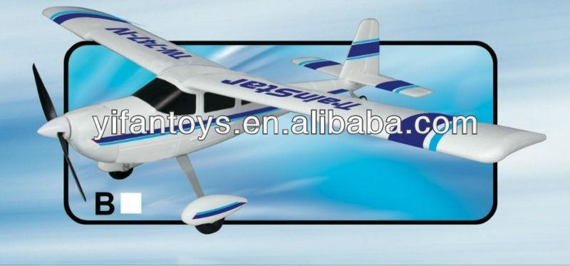 Trainstar Epo Tw 747-4 Rc Aircraft Glider
