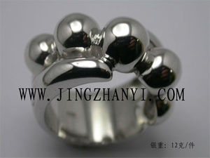 2015 design silver ring, men's ring , pussy ring