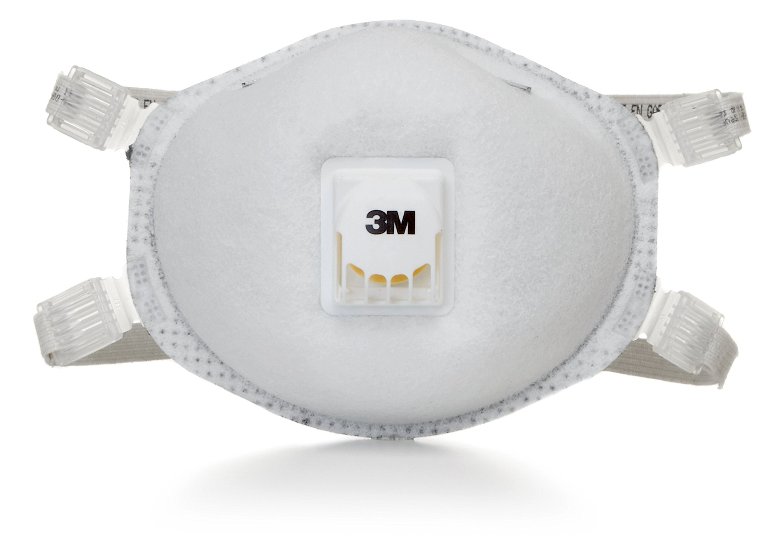 3M Particulate Respirator 8214, N95, with Faceseal and Nuisance Level Organic Vapor Relief 10/pack