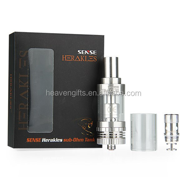 Hot selling Sense Herakles Tank 3.0ml with big ariflow adjustment holes Herakles Subohm Tank