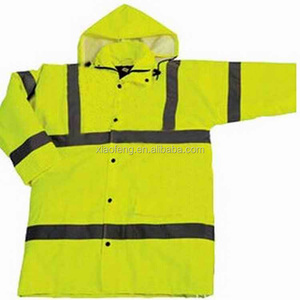 HI-VIZ fluorescent fabric for safety uniforms