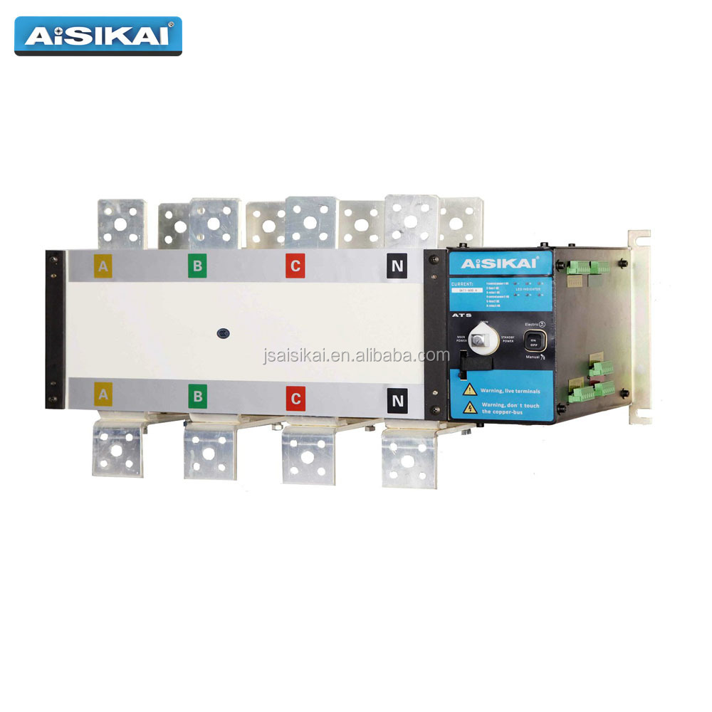 Aisikai Manual Transfer Switch Ats 4 Pole 1600a Buy Circuit Changeover Switchmts 1600a4 Electrical Product On