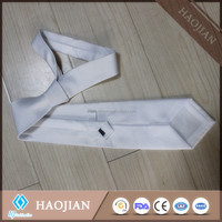 sublimation printable polyester neck ties polyester ascot tie men's neckwear