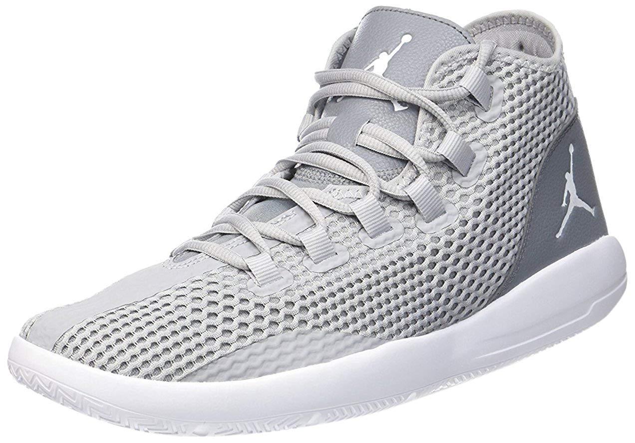 buy online 5baf9 1719f Get Quotations · Jordan REVEAL mens basketball-shoes 834064-003 9.5 - WOLF  GREY WHITE