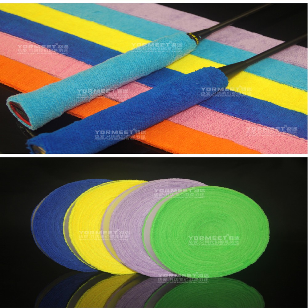 Tennis towel Overgrips Anti-skid Sweat grip Absorbed Wraps Badminton racket OverGrip