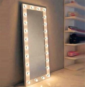 Xxl Ilumay Hollywood Vanity Style Led Lighted Full Length Salon