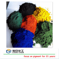 inorganic pigment blue/orange dye red yellow oxide powder iron oxide for asphalt color coating