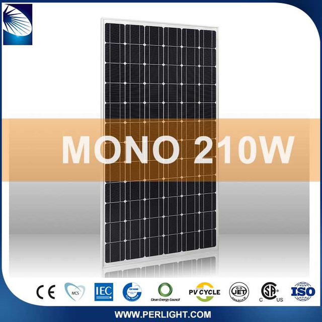 Flexible portable 210W 72cells roof solar panel cells,solar panel raw material,solar panel price list