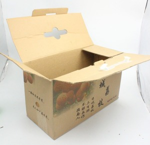 Guangzhou Low Price Wholesale Food Packaging Carton Fruits Corrugated Packing Box, Fruit Carton Box