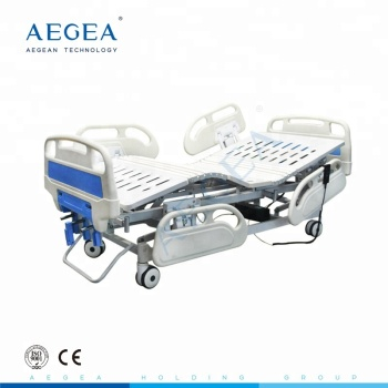 Multifunctional 3 function remote control clinic therapy motorized adjustable medical semi electric hospital beds price for sale