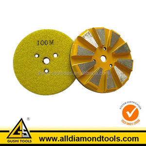 Metal Bond Segmented Diamond Concrete Floor Polishing Pads for HTC Machine