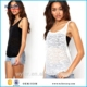 2016 New Fashion Women clothing sexy O-neck Vest Blouse Tank Top Sleeveless T Shirt ropa mujer crop top