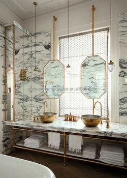 Arabescato Corchia Italy white Marble for house design bathroom project design & Arabescato Corchia Italy White Marble For House Design Bathroom ...