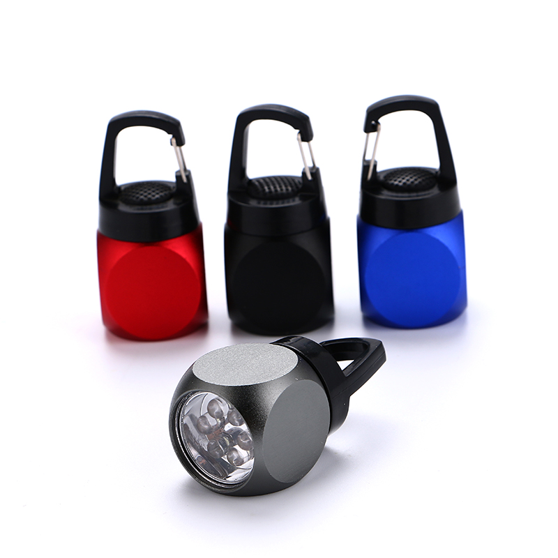 hot selling keychain promotion led mini flat flashlight