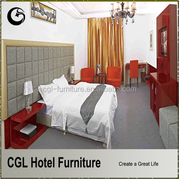 cgl furniture factory hotel bed room furnitures from foshan china