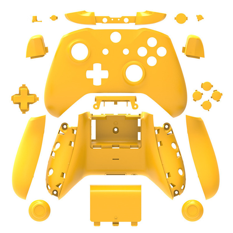 SYYTECH 10 colors Gamepad Shell Matte Full Set Buttons Replacement Controller Shell for Xbox One S