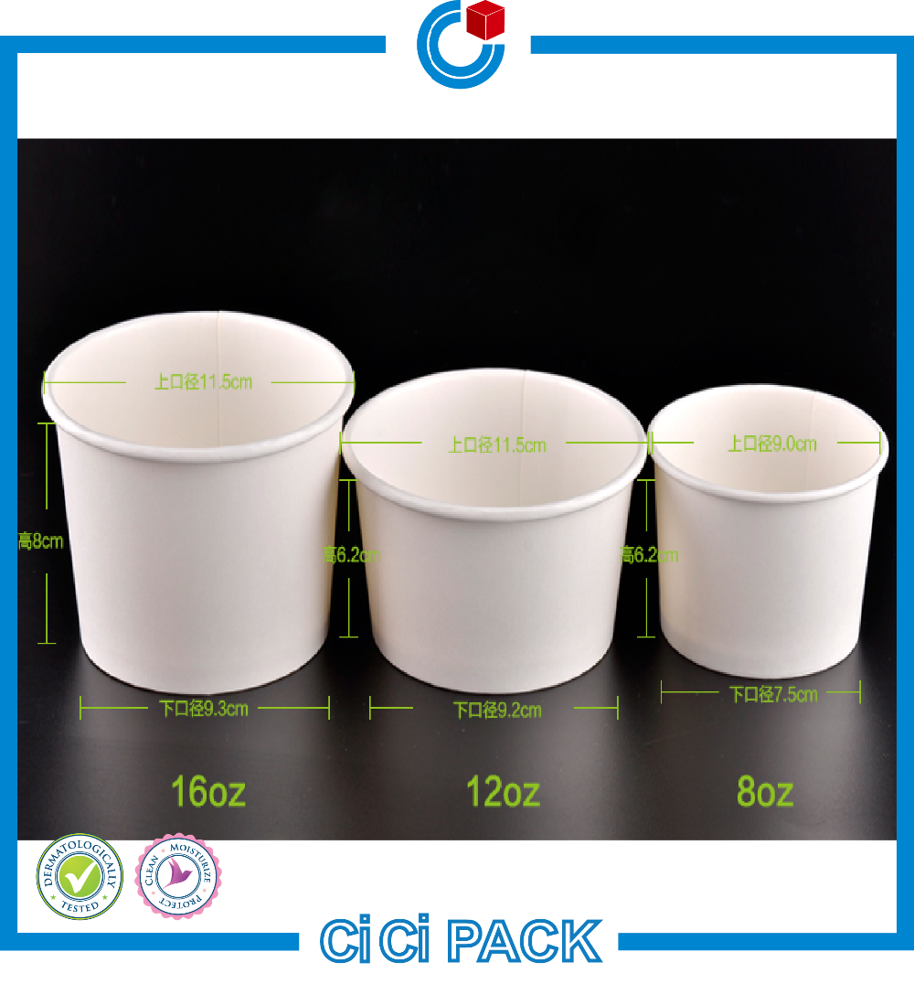 China Manufacture Wholesale Fancy Disposable Paper Soup Bowl With ...