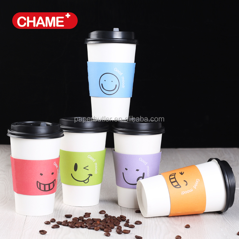 Hot Ing Disposable Design Your Own Coffee Paper Cups With Sleeve