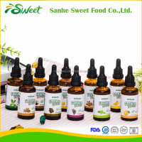 China stevia factory provide 23kinds of flavour stevia liquid extract