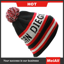 Wholesale fashion wool knitted women beanie winter hat for men knitted winter hat
