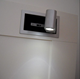 Modern Hotel bedside light embedded rotatable folding wall lamp