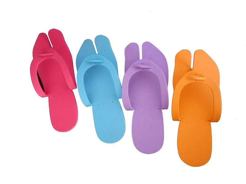 befafdf5d EVA Soft Foam Rubber Thong Disposable Pedicure Flip Flop Slipper ...