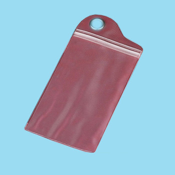 1 Color Custom Clearzip Bag