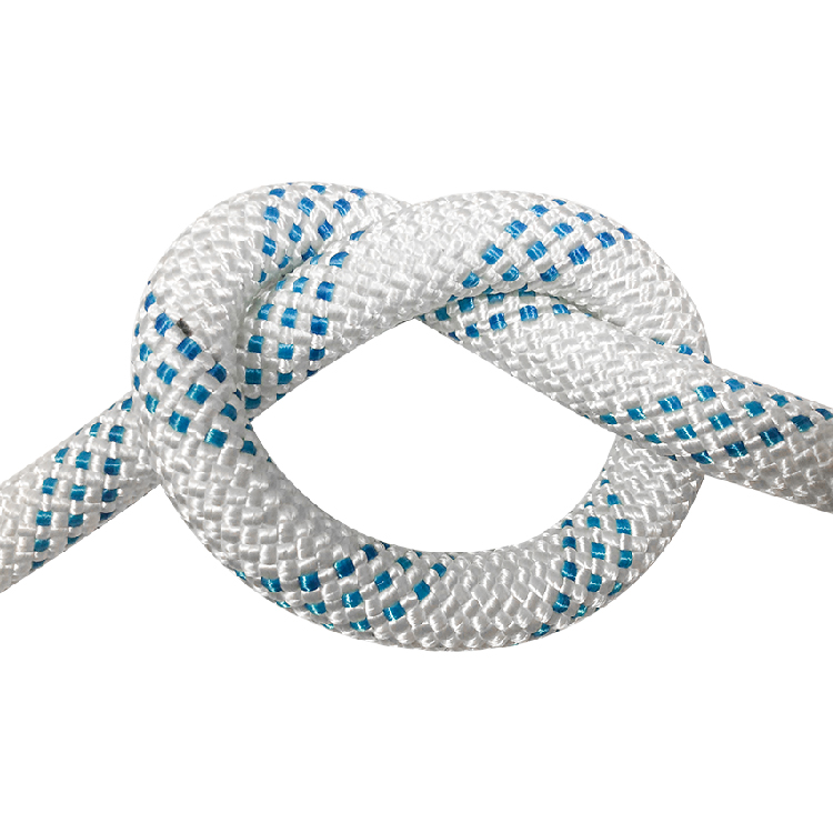 6mm OEM polyester knitted magnet fishing rope
