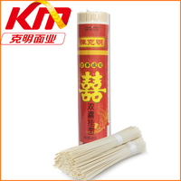Made in china low carb 400g double happiness vermicelli fine dried noodles